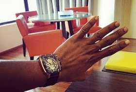 Ubi Franklin Gives UP, Removes Wedding Ring